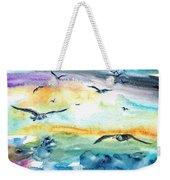 Seagull Seas Weekender Tote Bag