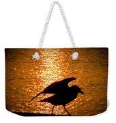 Seagull Silhouette Weekender Tote Bag