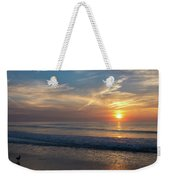 Seagull Sunrise Along The Jersey Shore Weekender Tote Bag