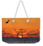Seagull Sunrise Weekender Tote Bag