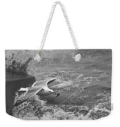 Seagull With Bread Weekender Tote Bag