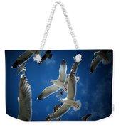 Seagulls Above Weekender Tote Bag
