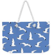 Seagulls Gathering At The Cricket Weekender Tote Bag