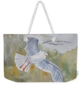Seagulls Over Glacier Bay Weekender Tote Bag