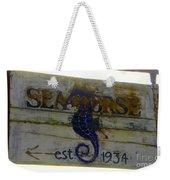 Seahorse Est. 1934 Weekender Tote Bag