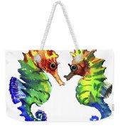 Seahorse Love Weekender Tote Bag