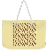 Seahorse Watercolor Art Weekender Tote Bag