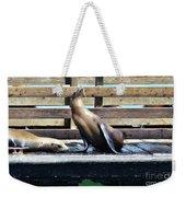 Seal Cheerleader Weekender Tote Bag