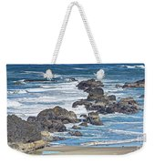 Seal Rock Seascape Weekender Tote Bag