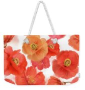 Seamless   Pattern Of Watercolor Poppy Flowers Weekender Tote Bag
