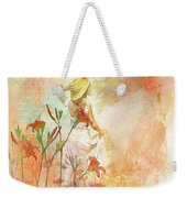 Search For Tomorrow Weekender Tote Bag