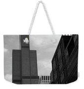 Sears Tower B-w Weekender Tote Bag
