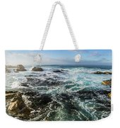 Seas Of The Wild West Coast Of Tasmania Weekender Tote Bag