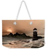Seascape  A Frozen Morning Weekender Tote Bag
