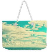 Seascape Cloudscape Instagramlike Weekender Tote Bag