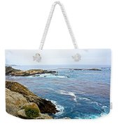 Seascape From Point Lobos State Reserve Near Monterey-california  Weekender Tote Bag