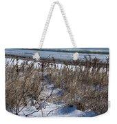 Seascape In Winter Weekender Tote Bag