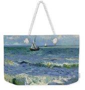 Seascape Near Les Saintes Maries De La Mer Arles June 1888 Vincent Van Gogh 1853  1890 Weekender Tote Bag