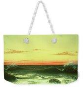 Seascape Sunset 1861 Weekender Tote Bag