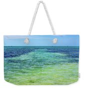 Seascape - The Colors Of Key West Weekender Tote Bag