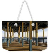 Seascape Walk On The Pier Weekender Tote Bag