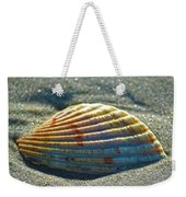Seashell After The Wave Square Weekender Tote Bag