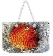 Seashell Art - Square Format Weekender Tote Bag