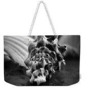 Seashell Bw  Weekender Tote Bag