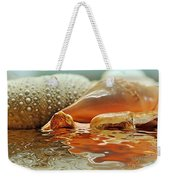 Seashell Reflections On Water Weekender Tote Bag