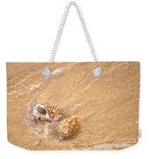 Seashell Turbulence Weekender Tote Bag