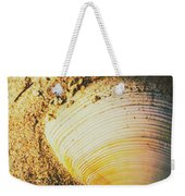 Seashells And Beach Colours Weekender Tote Bag