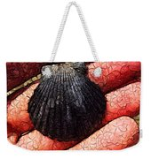 Seashells By The Seashore Weekender Tote Bag