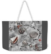 Seashells Collage Of Any Color Weekender Tote Bag