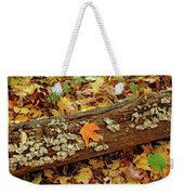 Seashells In The Forest Weekender Tote Bag