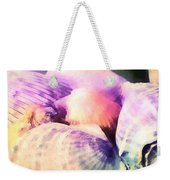 Seashells Painted  Weekender Tote Bag