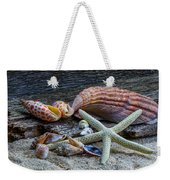 Seashells And Driftwood Weekender Tote Bag