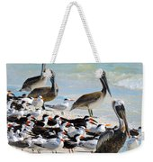 Seashore Gathering Weekender Tote Bag
