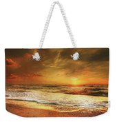Seashore Sunset Weekender Tote Bag