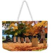 Seaside Cemetery Weekender Tote Bag