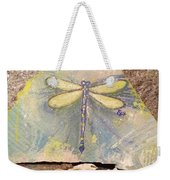 Seaside Dragonfly Weekender Tote Bag
