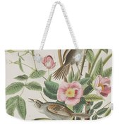 Seaside Finch Weekender Tote Bag
