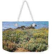 Seaside Flowers Weekender Tote Bag