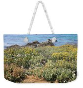 Seaside Flowers Weekender Tote Bag