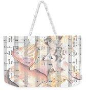 Seaside  Weekender Tote Bag by Kathy Weidner