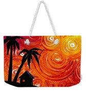 Seaside Lights Weekender Tote Bag by Cindy Thornton