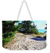Seaside Path Weekender Tote Bag