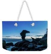 Seaside Rock Formations At Daybreak Weekender Tote Bag