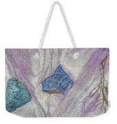 Seaside Rocks And Garnet Sand Weekender Tote Bag