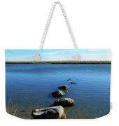 Seaside Rocks Weekender Tote Bag