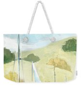 Seaside Sails Weekender Tote Bag